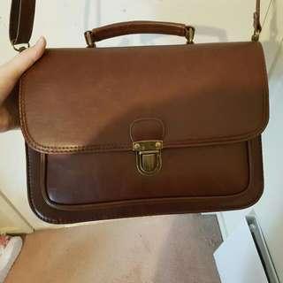 Typo Satchel Bag