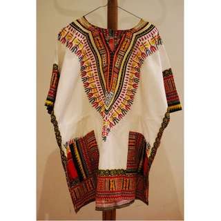 African Tunic Ethnic Design Top