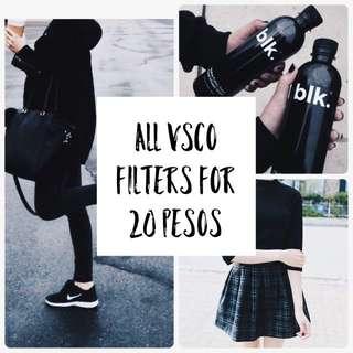 All VSCO Filters
