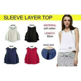Sleeve Layer Top