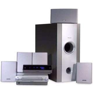 Pioneer HTZ-77DV 5-speaker Home Theatre Sound System
