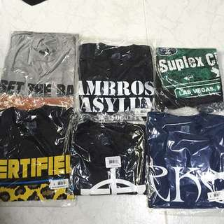 WWE Authentic T-Shirts