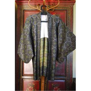 Vintage *PRICE DROP* Vintage Japanese Wool Haori/Kimono Jacket