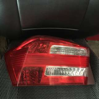 HONDA CITY 2012 (transformer) TAIL LAMP
