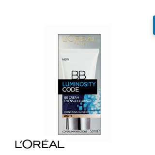 [INSTOCK] L'Oreal 50ml Luminosity Code Abbas Cream