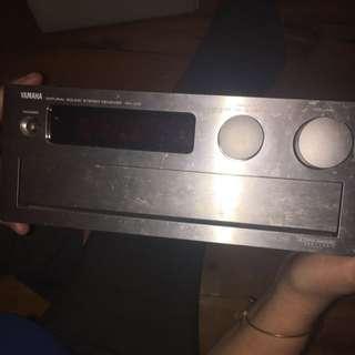 Yamaha natural Sound Receiver RXV10