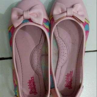 Flatshoes Tictactoe Pink