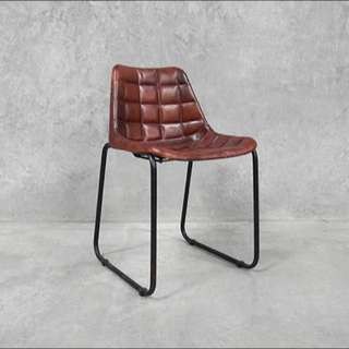 Leather Chair (Industrial Style)