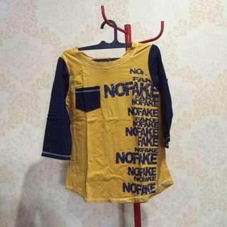 Blue Yellow Shirt