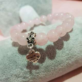 Rose Quartz Bracelet 8mm
