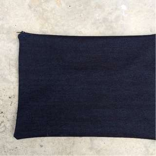 Single-Lined Denim Pouch