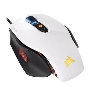 Corsair M65 PRO RGB FPS Gaming Mouse — White