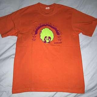 T-shirt Orange Produk Luar Original /M/Man