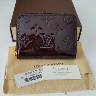 Louis Vuitton Zippy Coin Vernis