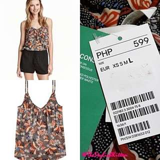 Authentic H & M Printed Tank Top