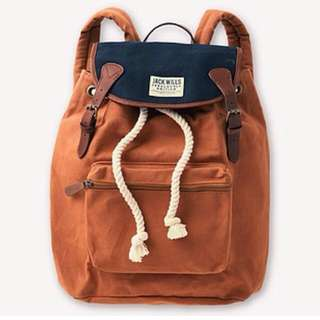 UK Jack wills Penrose Backpack