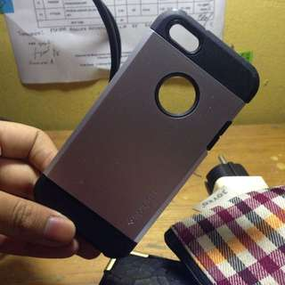 Case iphone 5 Spigen Black