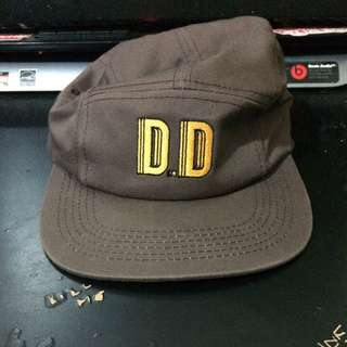 Draft Day 5-Panel Brown Camp Cap