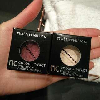 NUTRIMETICS Eyeshadows & Lip Gloss Brand New!