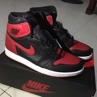 "Jordan 1 ""banned"" 2016 LE release Size 7us"