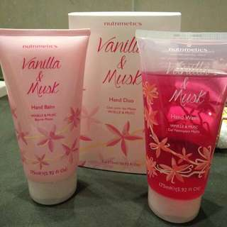 NUTRIMETICS Hand Wash Hand Balm Gift Set Brand New!