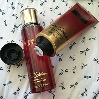 Victoria's Secret Pure Seduction Lotion And Perfume