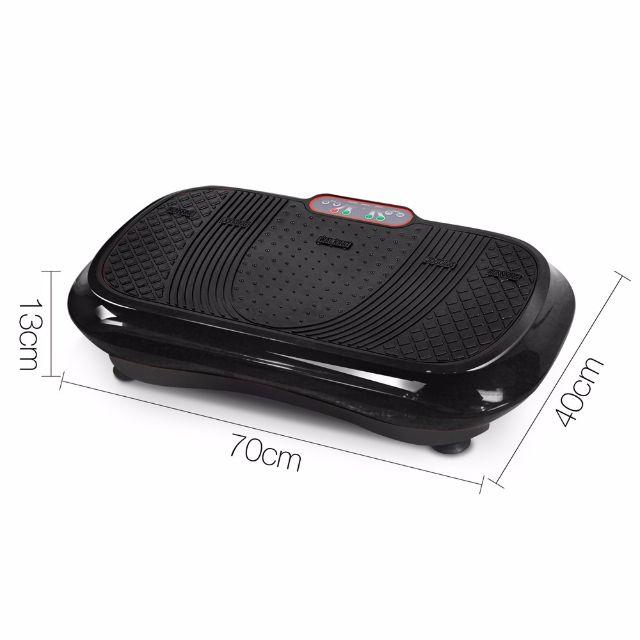 600W Vibrating Plate - Black Fitness Gym Equipment