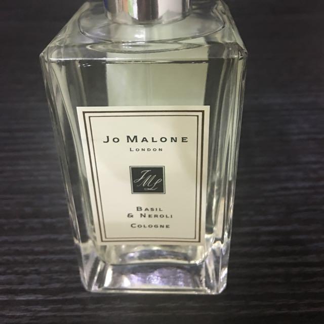 Jo Malone 9月新香羅勒與橙花純露