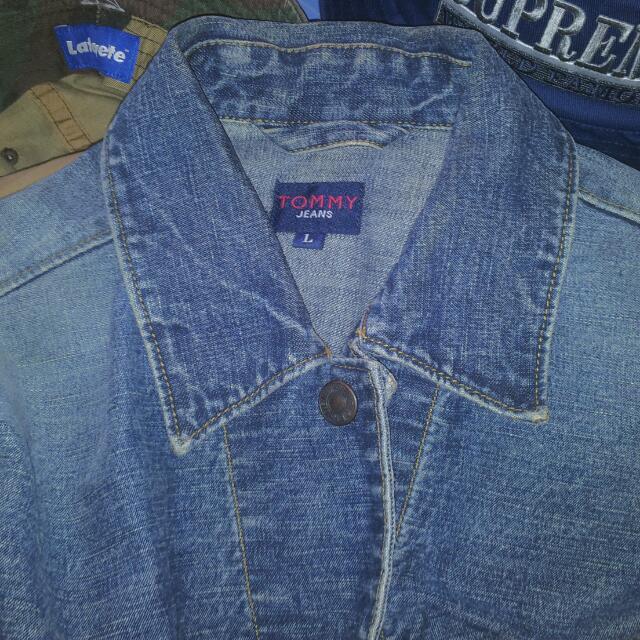 背面無圖 老品 Tommy Denim Jacket 牛仔外套