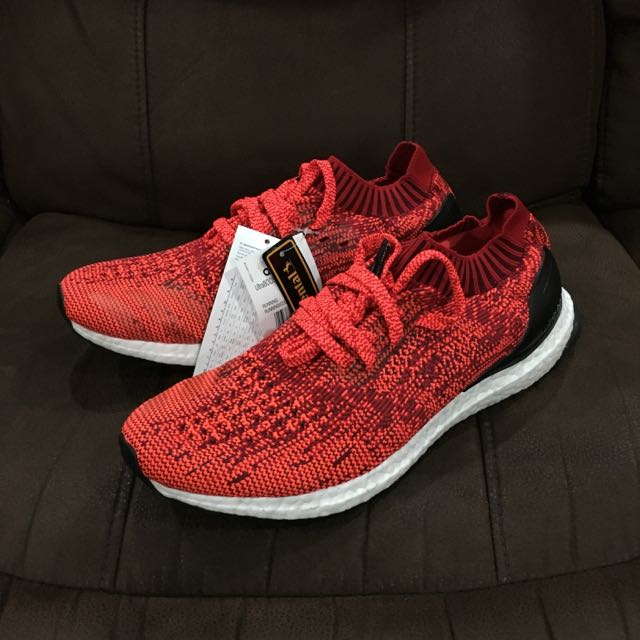4399f03fd Adidas UltraBoost Uncaged  Solar Red  - UK Release