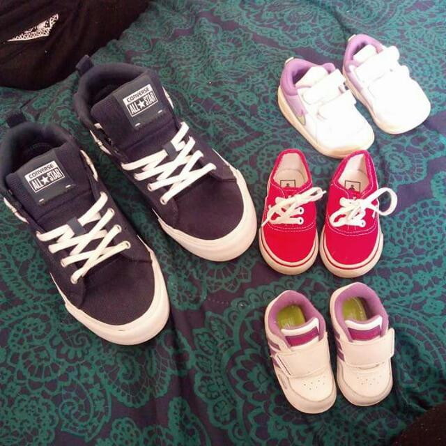 Adult And Baby Shoes