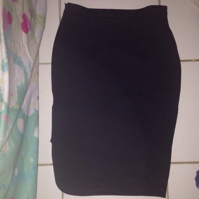 Asymmetric Skirt By Heiress