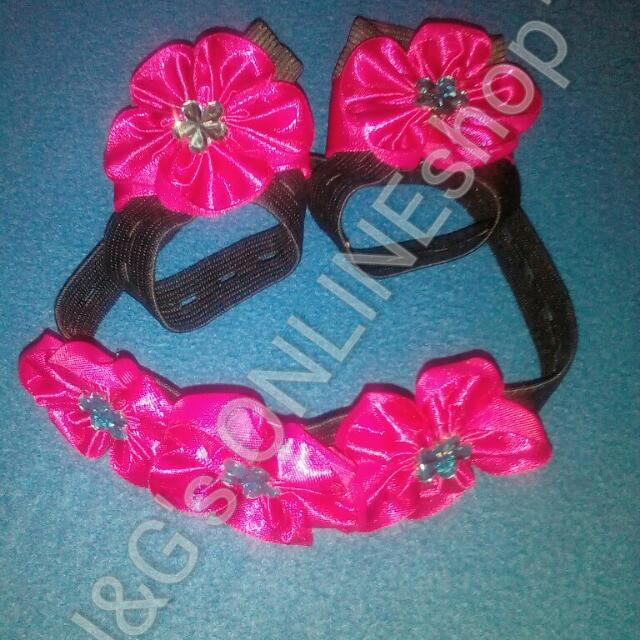 Barefoot Sandals With Headband