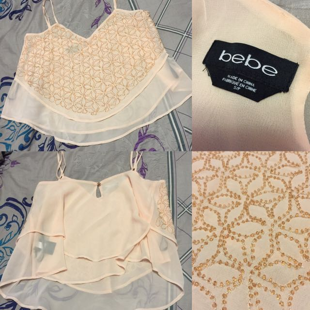 BEBE Layered Top- S/P