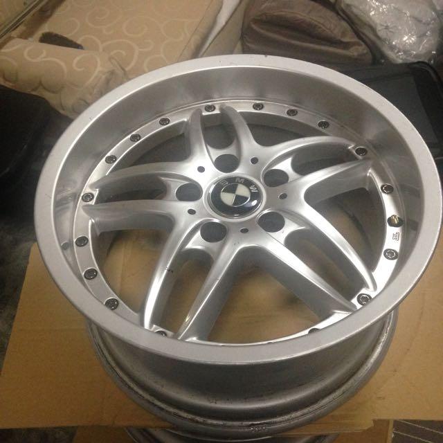 BMW 17 Inch Wheels
