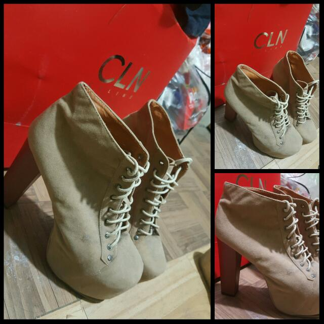 Boots Chunky Heels