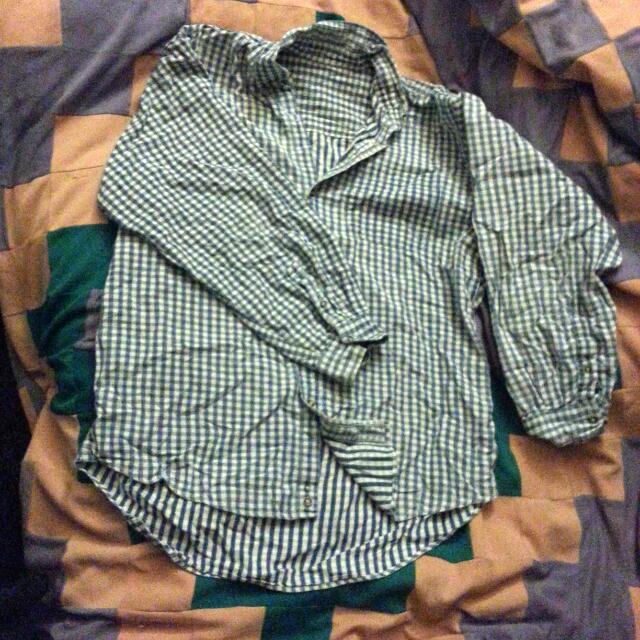 Boyfriend Style Button Up