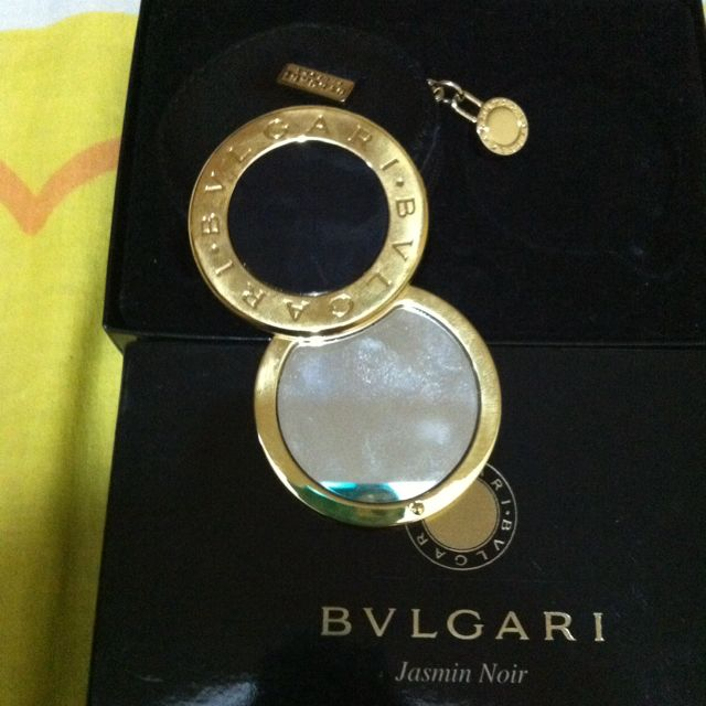 BVLGARI Gold Plated Mirror