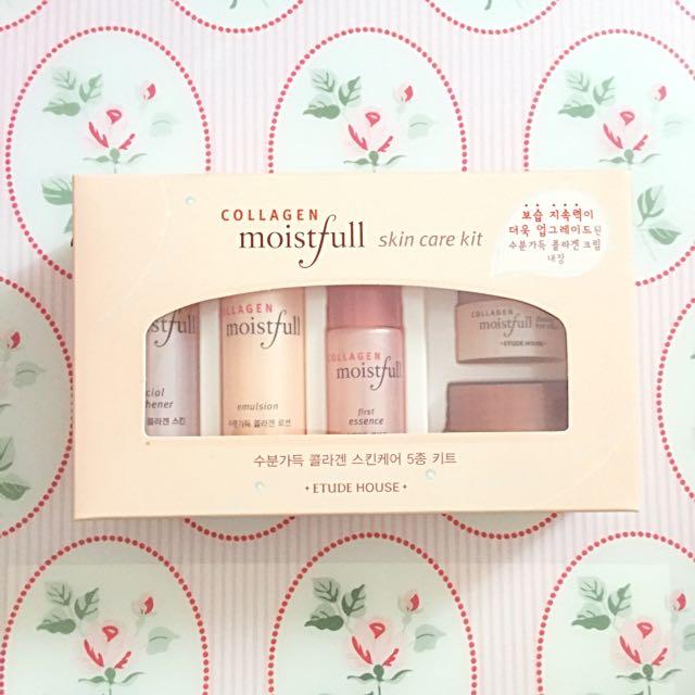 Collagen Moistful Skin Care Kit By Etude House