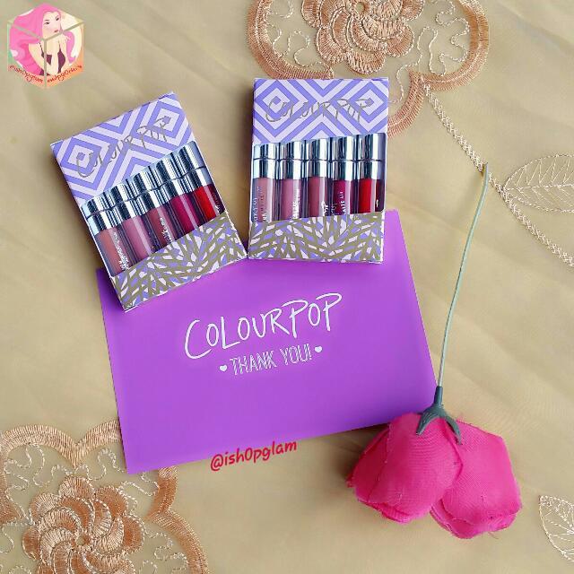 Colourpop Foxy STARTER Kit