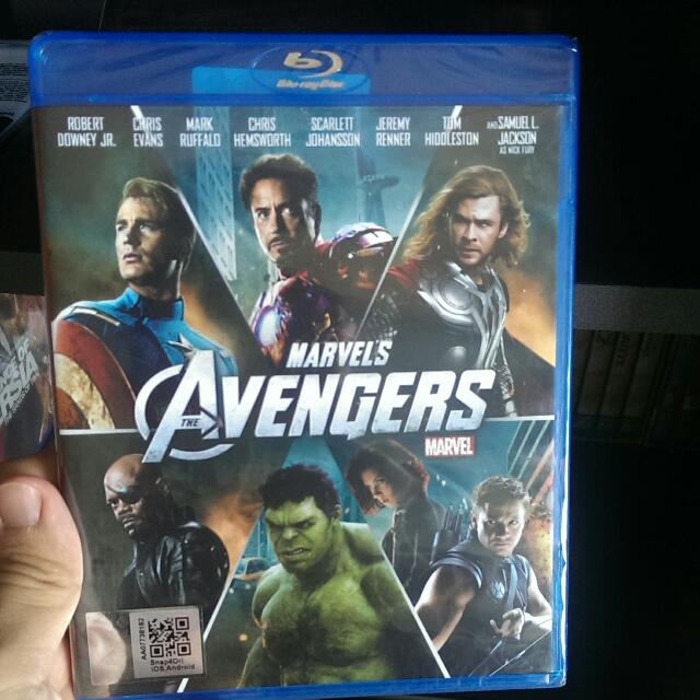 DVD Blue Ray The Avengers