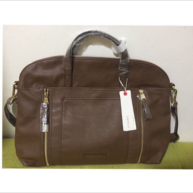 417d63cd9 BN Esprit Leather Bag, Women's Fashion, Bags & Wallets on Carousell
