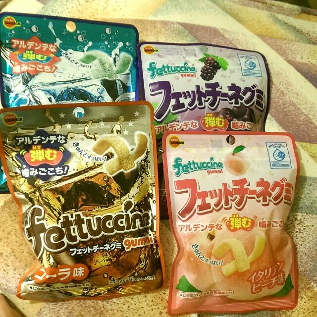 Fettuccine日本軟糖