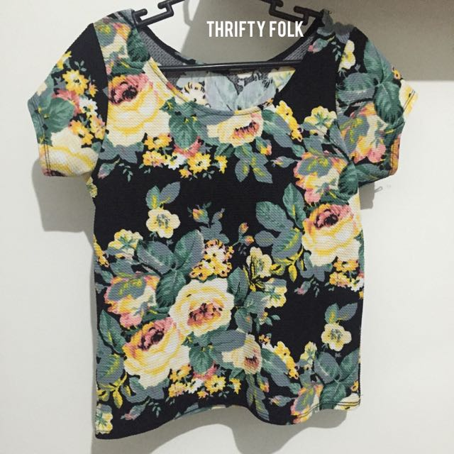 ‼️CLEARANCE‼️Floral Top
