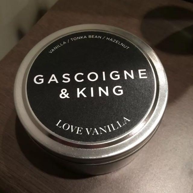 Gascoinge & King 250g Vanilla Candle