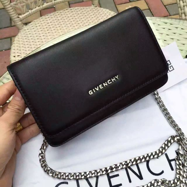 d9f3dca99 Givenchy Pandora Chain-Strap Wallet (WOC), Luxury, Bags & Wallets on  Carousell