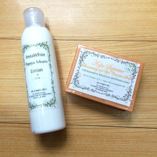 Instawhite & Soap