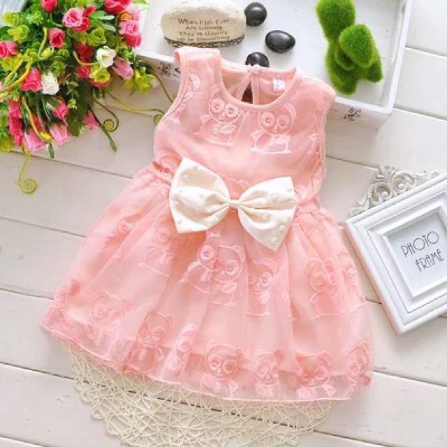 477dfb3afbb1 Instock! Baby Girl Dresses  Kids  Toddler  Princess Dresses 1month ...