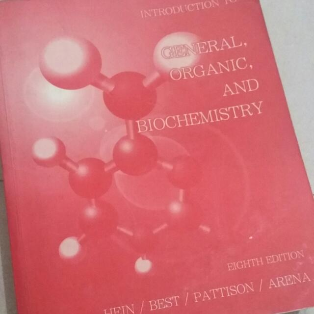 Intro To General, Organic And Biochemistry