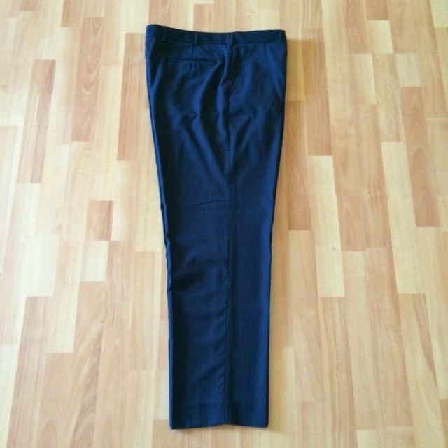 Larger Size Mens' Business Pants